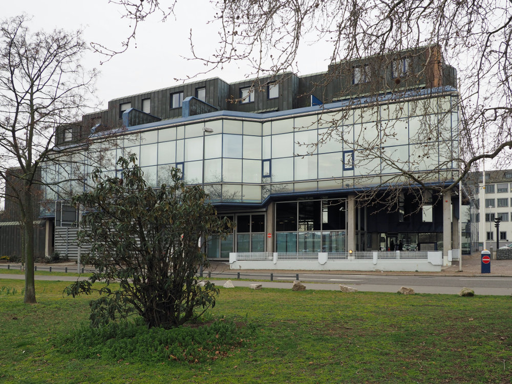 Ludwigshafen, Landeszentralbank (Bild: Eva Seemann, 2020)
