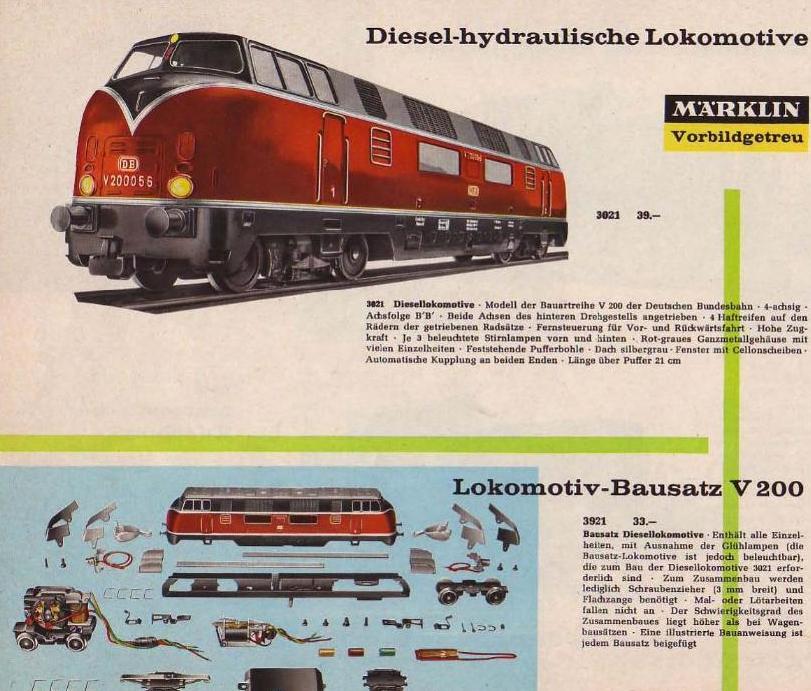 Ein Blick in den Märklin-Katalog des Jahres 1965