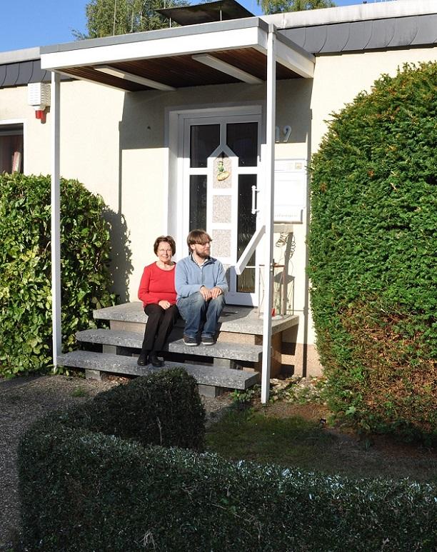Mülheim/Ruhr, ehemaliger Pfarrerbungalow Bredenbeck im Jahr 2016 (Foto: Horst Bredenbeck)