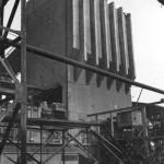 Magdeburg, Rothensee, Großgaserei (J. Göderitz, 1930) (Bild: Bundesarchiv Bild 183-08904-0005, CC BY SA 3.0.de, Foto: I. Biscan, 1950)