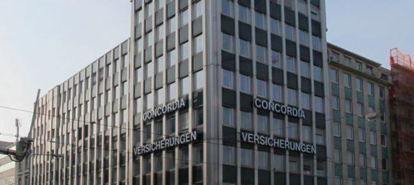 Frankfurt/Main, Concordia-Haus Februar 2016 (Bild: D. Bartetzko)