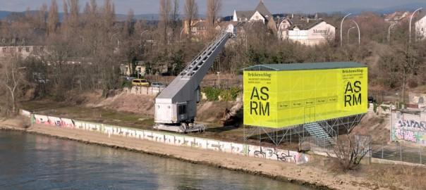 Mainz-Kastell, Pavillon Kransand Menz, (Visualisierung: Heinrich Lessing, Bild: Architektursommer Rhein-Main)