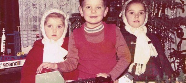 Mario Lorenz Weihnachten 1974 am Trafo (Foto: privat)