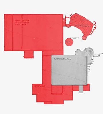 """Mattersburg, Kulturzentrum, Lageplan Abriss (Bild: Initiative """"Rettet das Kulturzentrum Mattersburg)"""