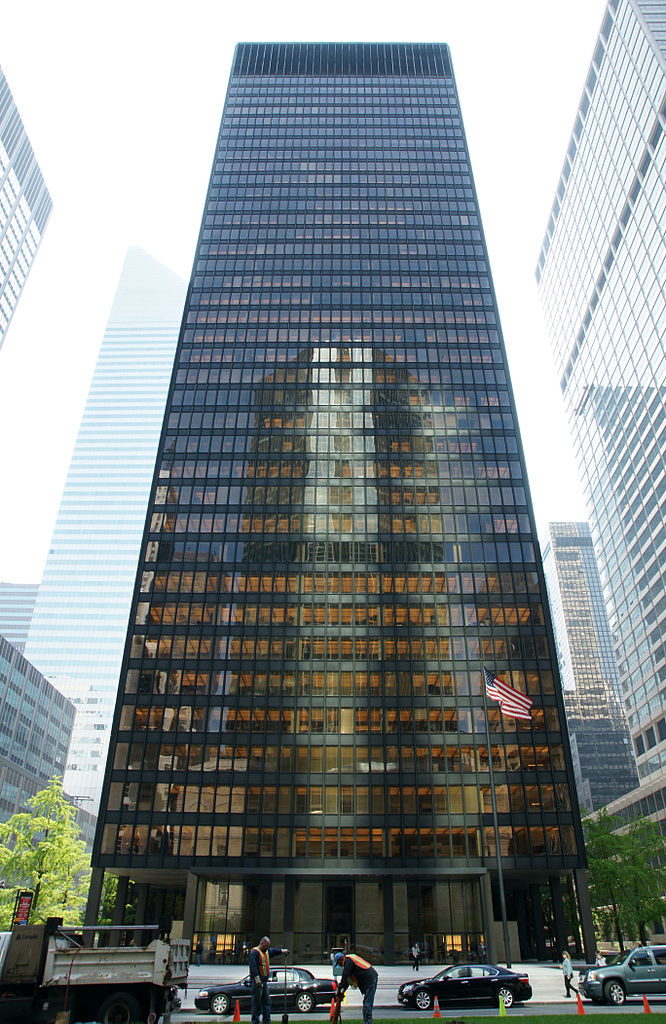 Bekommt bald Gesellschaft: Mies Seagram Building (Bild: PD)