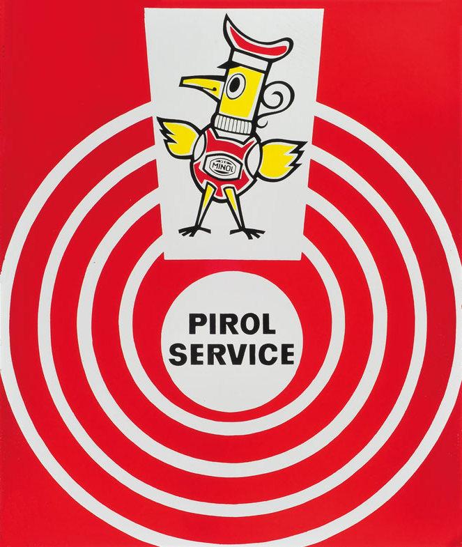 Minol-Werbung, um 1960 (Bild: historische Vorlage)
