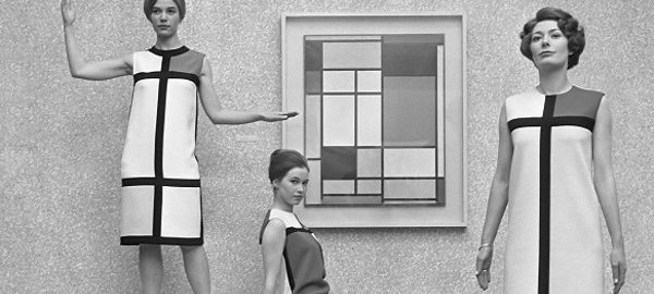 Mondrian-Kleid, Yves Saint Laurent (Bild: Eric Koch/Anefo (Nationaal Archief), CC BY-SA 3.0)