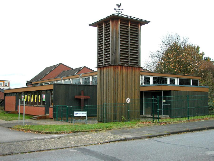 Monheim-Ost, St. Ursula (Bild: Velopilger, PD; 2009)