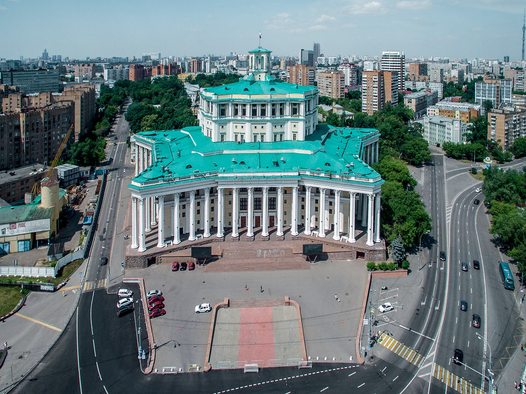Moskau, Theater der Roten Armee, 1935-40 (Foto: © Denis Esakov)