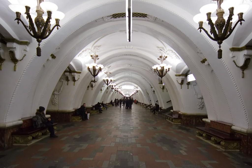 """Moskau, Metrostation """"Arbatskaja"""" (Bild: Alex Rave, CC BY SA 3.0)"""