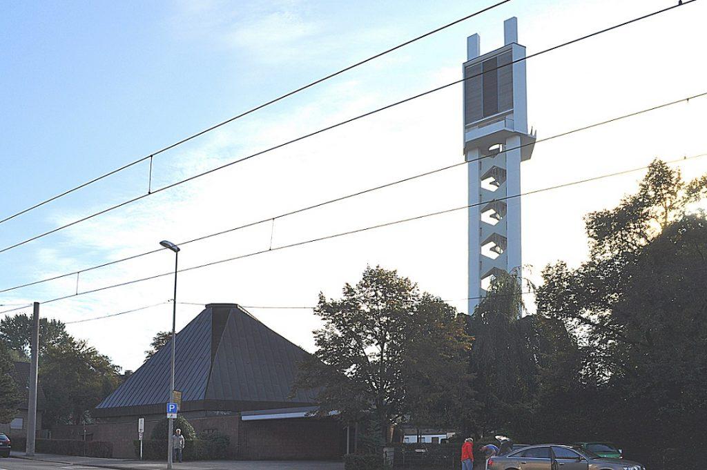 Mülheim, Johanniskirche im Jahr 2016 (Bild: Horst Bredenbeck)