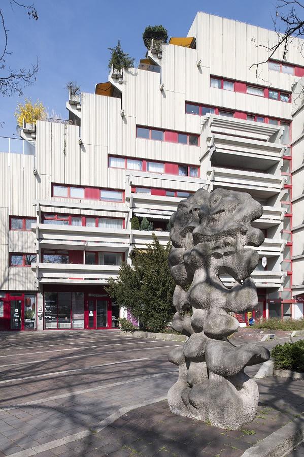 """München-Schwabing, Wohn-und Geschäftshaus """"Fuchsbau"""" (Bild: Bayerisches Landesamt für Denkmalpflege, Michael Forstner)"""