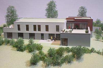 Nagold, Simulation des Neubaus von Hospiz St. Michael (Bild: st-elisabeth-stiftung.de)