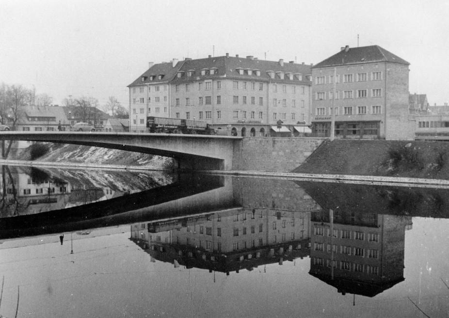 Neu-Ulm, Gänstorbrücke (Bild: Stadtarchiv Neu-Ulm)