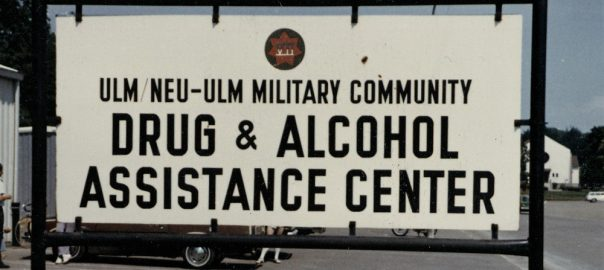 Neu-Ulm, Drugs & Alcohol Assistance Center (Bild: Stadtarchiv Neu-Ulm, Sammlung Mangold)