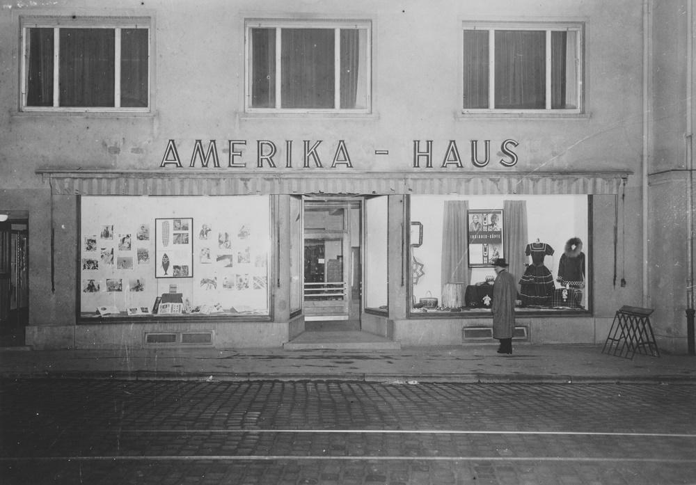 Ulm, Amerikahaus (Bild: Stadtarchiv Ulm)