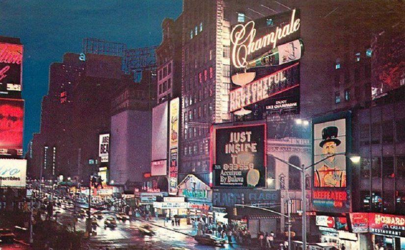New York (Bild: historische Postkarte, 1960er Jahre)