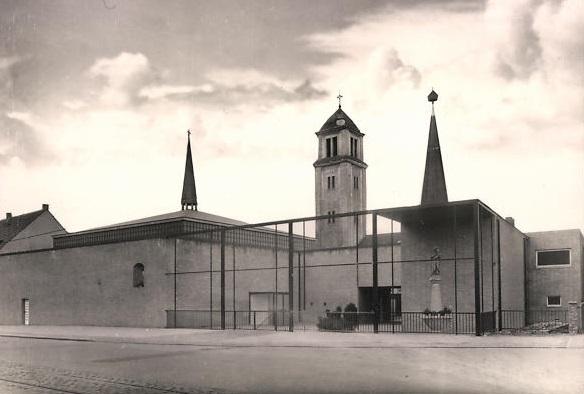 Oberhausen, Zu unserer Lieben Frau (Bild: historische Postkarte)