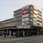 """Offenbach am Main, Innenstadt mit """"rückgebauter"""" Verkehrsplanung (Bild: Daniel Bartetzko)"""