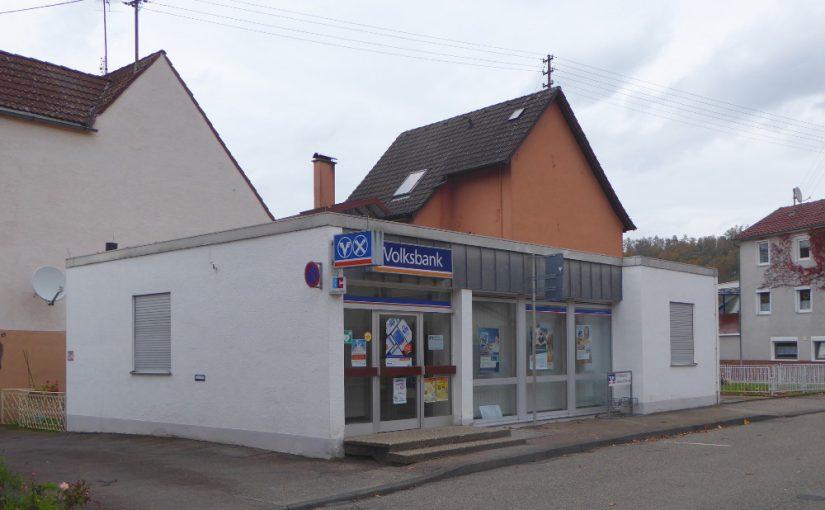 Öhringen-Ohrnberg, Volksbank Hohenlohe (Bild: Jiří Hönes)
