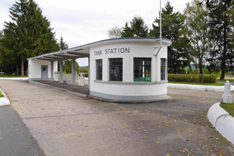 Ordensburg Vogelsang, Tankstelle (Bild: Florian Kragl)