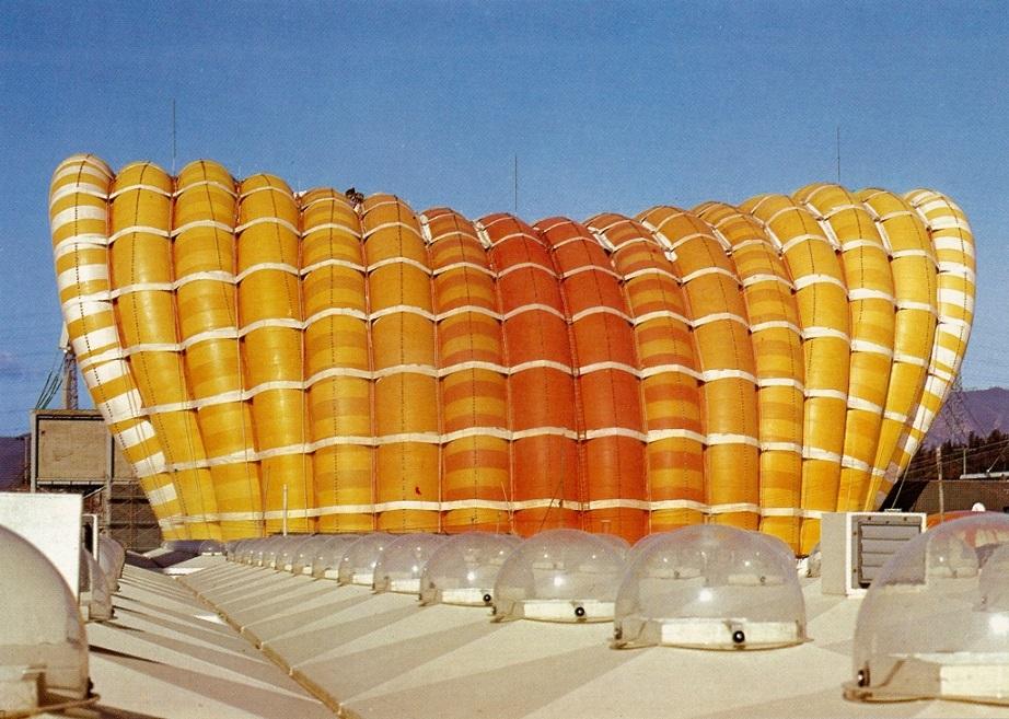 Osaka, Expo'70, Fuji-Pavillon (Bild: kouiji OOTA,, CC BY SA 2.0)