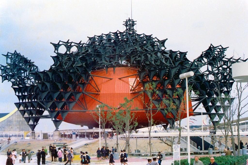 Osaka, Expo'70, Toshiba-IHI-Pavillon (Bild: takato marui, CC BY SA 2.0)