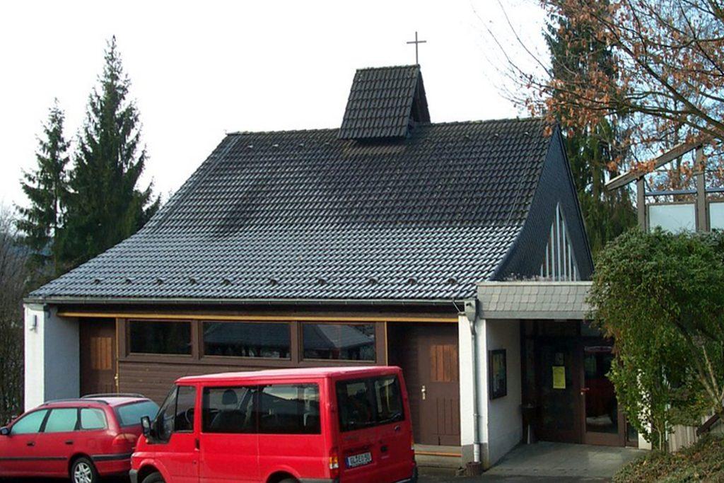 Overath, Versöhnungskirche, 2007 (Bild: JMoser, via panoramio)