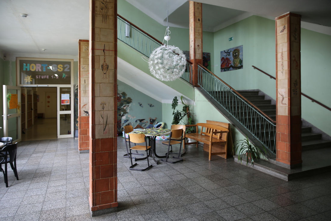Eisenhüttenstadt, Schule II (Bild: Dina Dorthea Falbe)