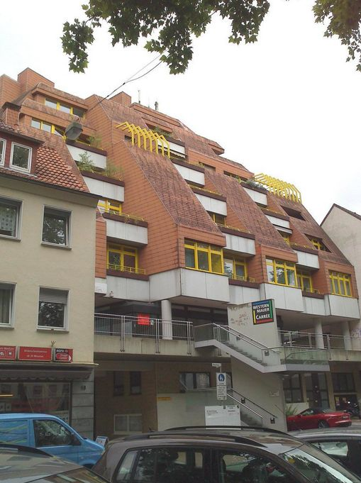 Paderborn, Treppenhaus (Bild: Wasserdrachen Podcast)