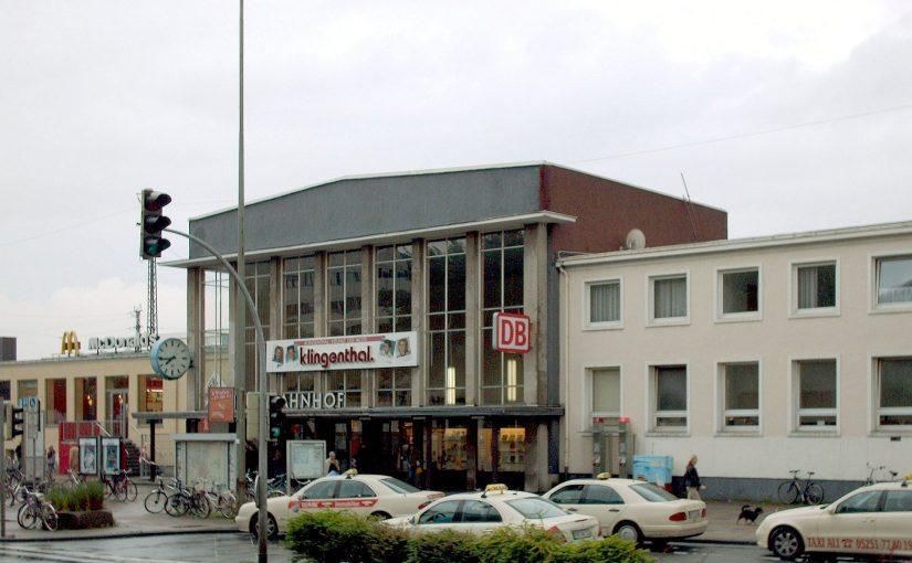 Hauptbahnhof Paderborn fällt