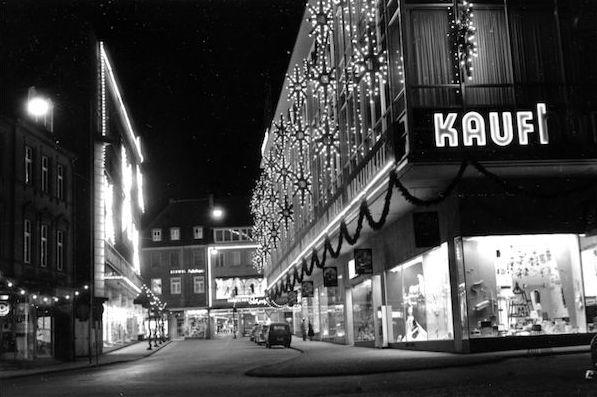 Paderborn, Königs-Ecke Westernstraße, 1959 (Copyright: Stadtarchiv Paderborn)