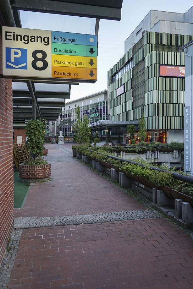 Paderborn, Königsplätze, Ebenenlogo (Bild: Jan Kampshoff)