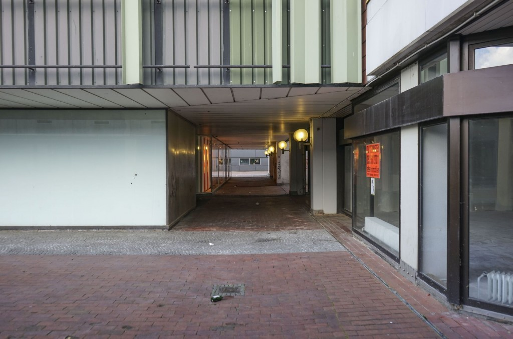 Paderborn, Königsplätze, Durchgang (Bild: Jan Kampshoff)