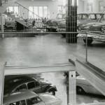 """Das """"Loch im Boden"""" war ein Autoaufzug. Er wurde 1934 eingebaut und ist (noch!) vorhanden (Bild: O. Hausmann)"""