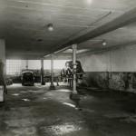 Die Werkstatt um 1935. Rechts der Autoaufzug (Bild: O. Hausmann)