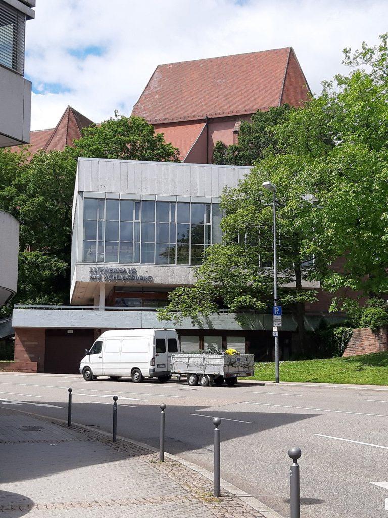 Pforzheim, Lutherhaus (Bild: Karin Berkemann, Mai 2021)