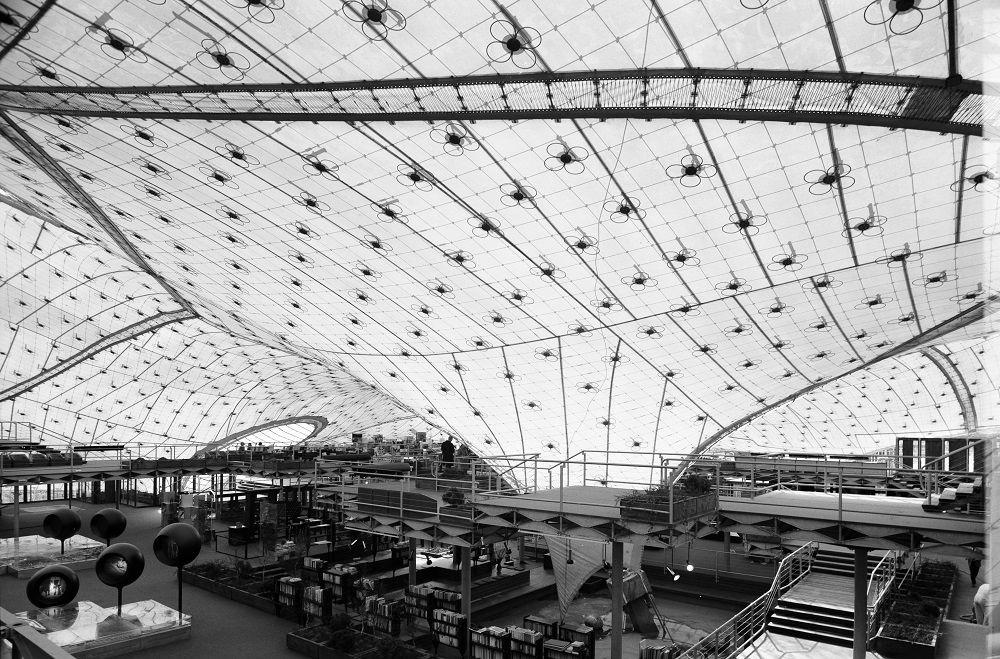 Montreal, Expo-Pavillon (Bild: © saai, Werkarchiv Frei Otto)