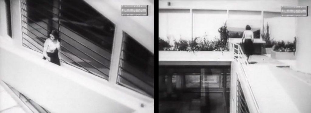 Rampe zum Dachgarten der Villa Savoye, Filmstill (Bild: VG Bild-Kunst, Bonn 2020)