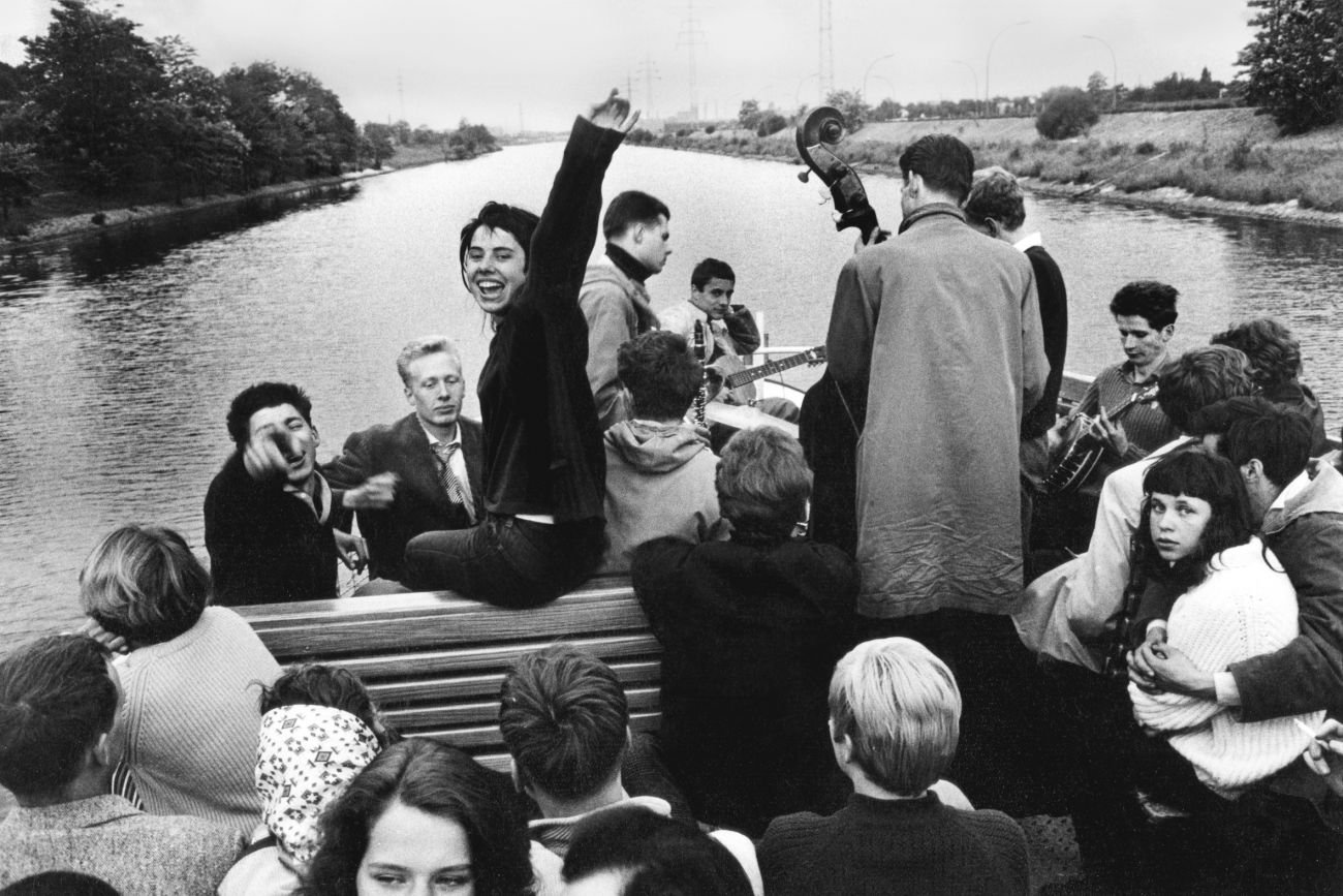 "Will McBride, Riverboat Shuffle (""Jazz auf dem Fluss""), 1955 (Copyright: Will McBright)"