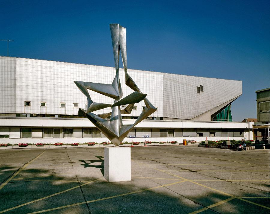 Roland Rainer: Stadthalle Wien, 1958 (Bild: Architekturzentrum Wien, Sammlung, Foto: Margherita Spiluttini)
