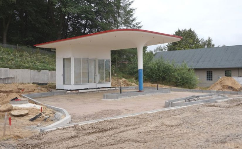 Museumsreife Tankstelle