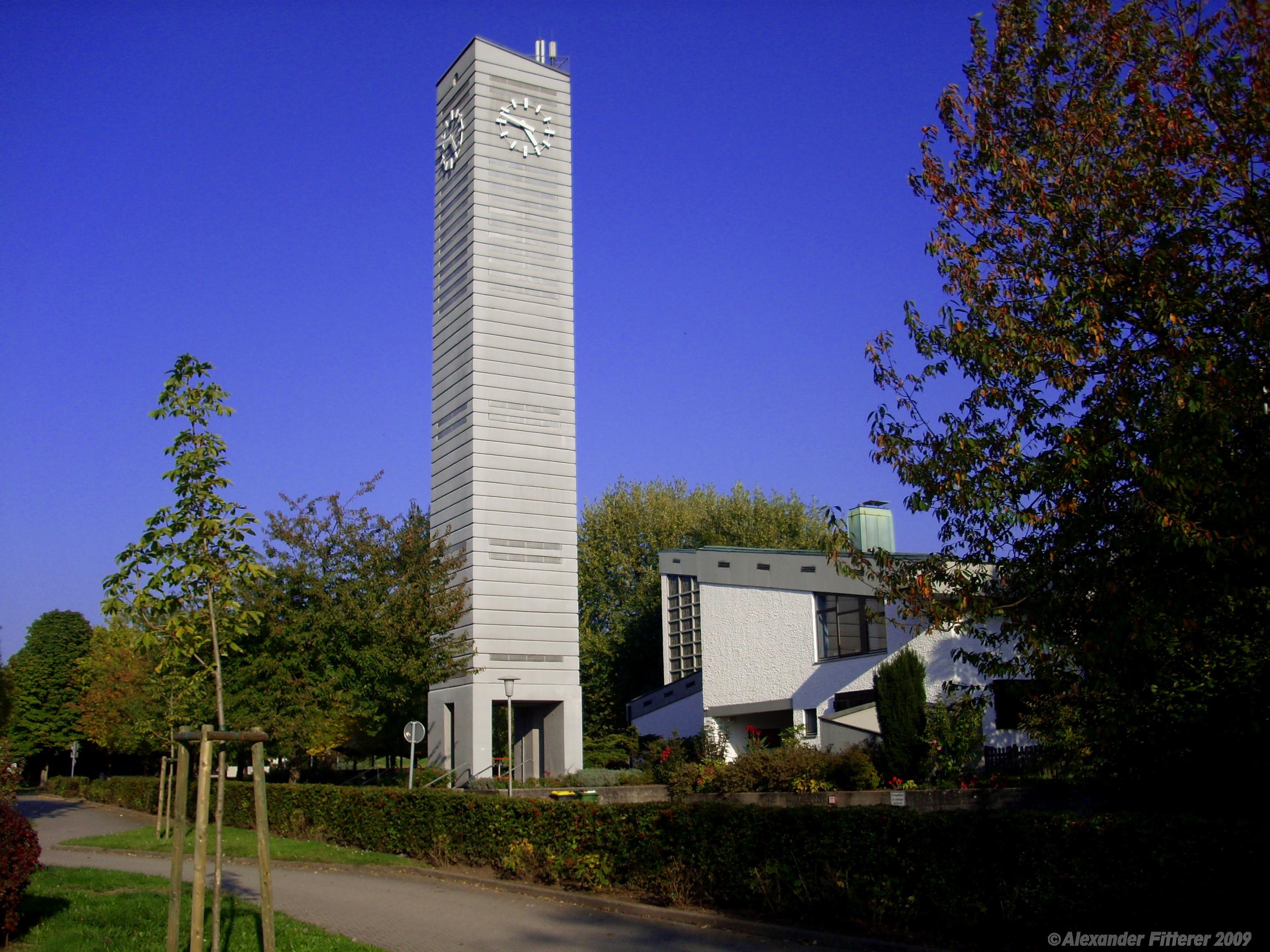 Gaggenau-Bad Rotenfels, Johanneskirche, 2009 (Bild: Alexander Fitterer, 2009, mapio.de)