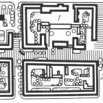 Lageplan des Brühlboulevards aus dem DDR Architekturführer (Bild: Wissenschaftliche Sammlungen zur DDR-Planungsgeschichte, IRS Erkner)