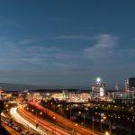 Saarbrücken, Stadtautobahn (Bild: Unistudent119, CC BY SA 4.0)