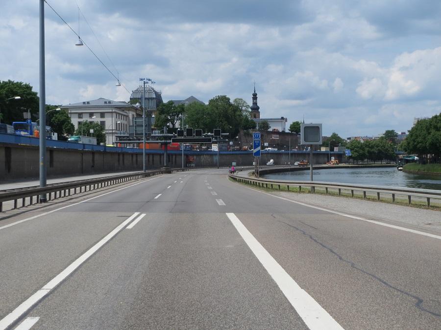 Saarbrücken, Stadtautobahn, Überschwemmungsgebiet (Bild: PD)