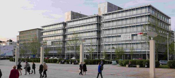 Saarbrücken, ehemalige Saarbergwerke-Verwaltung (Bild: baubar2016)