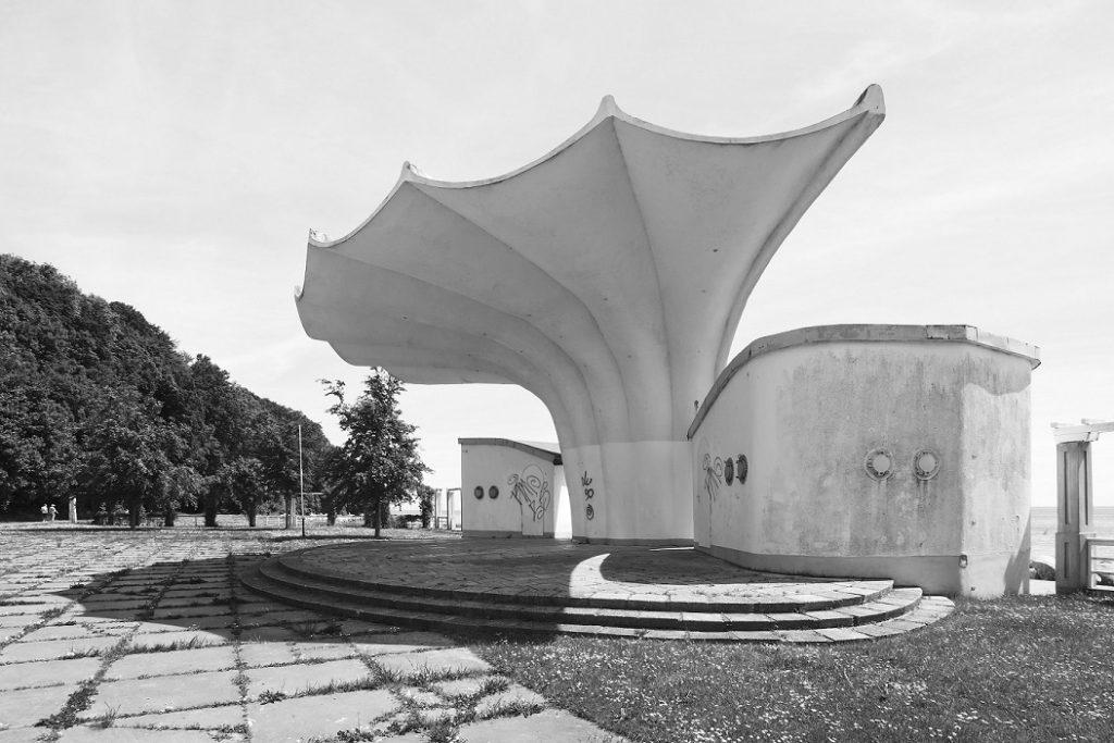 Sassnitz, Kurmuschel (Bild: Müther Archiv)