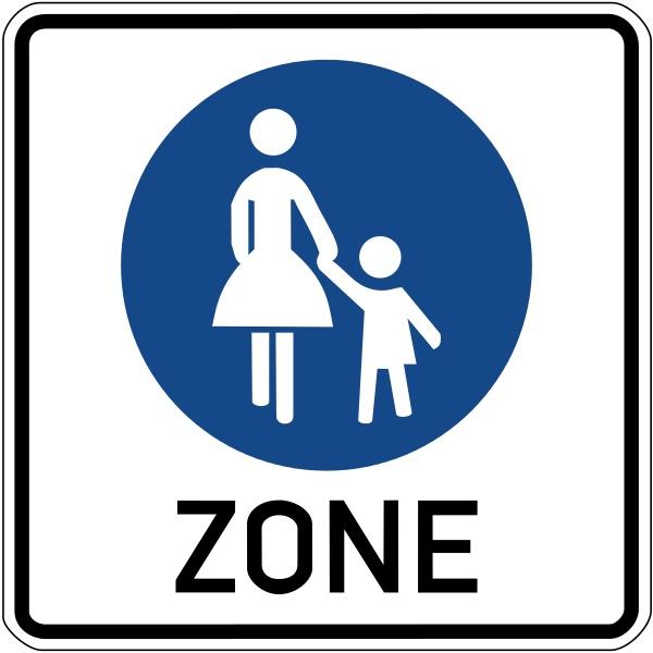 Von der Idee zum Verkehrsschild: die deutsche Fußgänngerzone