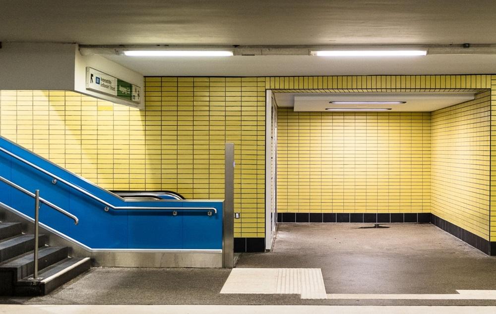 "Hanburg, U-Bahnhof ""Lübecker Straße"" (Bild: Gregor Zoyzoyla)"